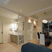两室两厅简约风格玄关装饰
