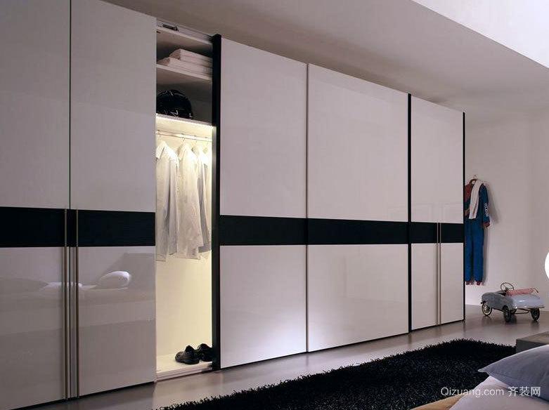 2015经济实用的大户型卧室整体衣柜效果图鉴赏