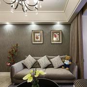 三室一厅简约风格飘窗装饰