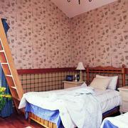 简约风格卧室样板房装饰