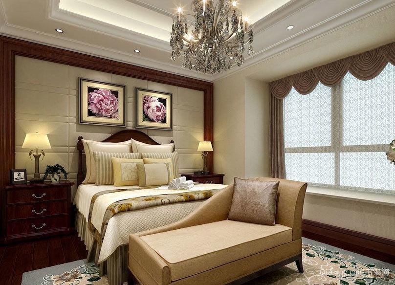 休闲助睡眠:奢华欧式小卧室背景墙装修效果图大全鉴赏