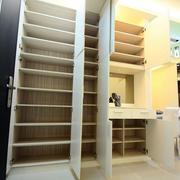 简约现代整体式储物柜设计