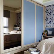 三室两厅简约风格卧室衣柜装饰