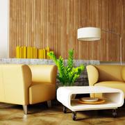 北欧风格客厅茶几装饰