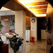 120平米客厅拱形门装饰