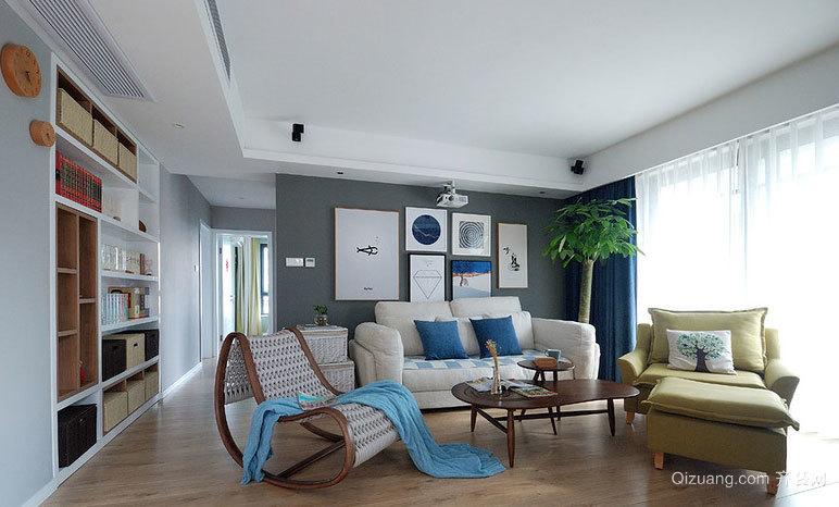 新人新气象:二手房大变身 室内装修设计效果图