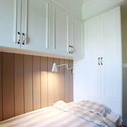 美式简约风格房屋卧室床头柜
