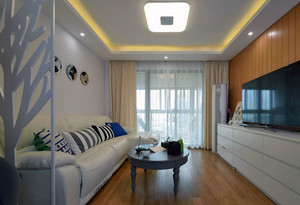 住宅式商品房客厅沙发装修