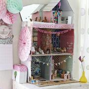 粉色少女风格储物柜装饰