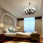 120平米欧式简约风格卧室装饰