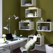 书房简约风格创意书架设计