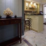 别墅简约风格欧式厨房装饰