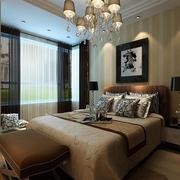 公寓简约风格卧室效果图