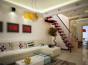 布局紧凑、功能明确的都市跃层式住宅装修效果图大全