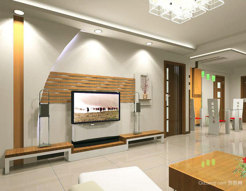 降低视觉疲劳:极具艺术的客厅硅藻泥背景墙装修效果图鉴赏