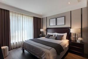 家的感觉:线条优美的酒店式公寓装修效果图