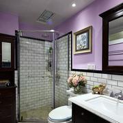 美式别墅简约风格卫生间装饰