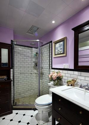自在不羁又高贵典雅的现代美式小型别墅装修设计效果图