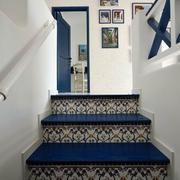 地中海简约楼梯效果图