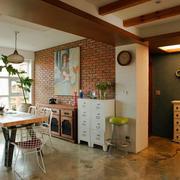 120平米老房餐厅装饰设计