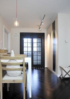 令人难忘的98平米现代两室一厅自住型商品房装修效果图
