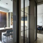 新房简约风格玻璃门装饰