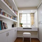 现代简约风格复式楼书房装饰
