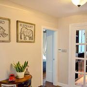 120平米房屋简约风格玄关装饰