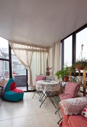 接近阳光的地方 家居阳台装修设计效果图