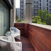 欧式简约风格阳台桌椅装饰