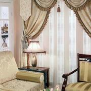欧式风格古堡风窗帘装饰
