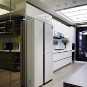 三室两厅简约风格厨房吊顶装饰