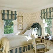 地中海风格简约儿童房卧室装饰