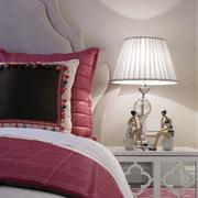 跃层简约美式风格卧室装饰