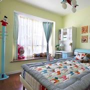儿童卧室简约风格背景墙装饰