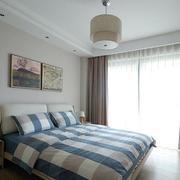 二手房简约风格卧室窗户装饰