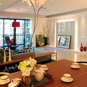 两室一厅简约风格桌椅装饰