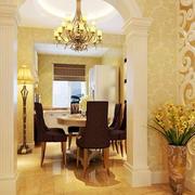 别墅欧式奢华玄关设计