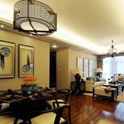 美式简约风格公寓餐厅装饰