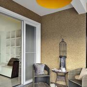 120平米商品房卧室推拉门装饰