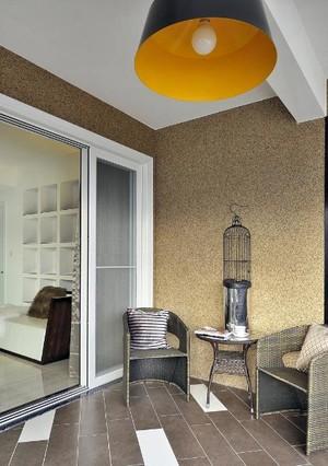 懒散的孤步舞:优雅随意120平米自住型商品房装修效果图