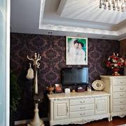 婚房简约风格卧室电视柜装饰