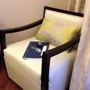 公寓阳台沙发椅效果图