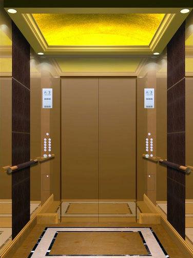环境好 实用性强电梯装潢艺术设计装修效果图