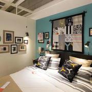 美式简约风格房间背景墙设计