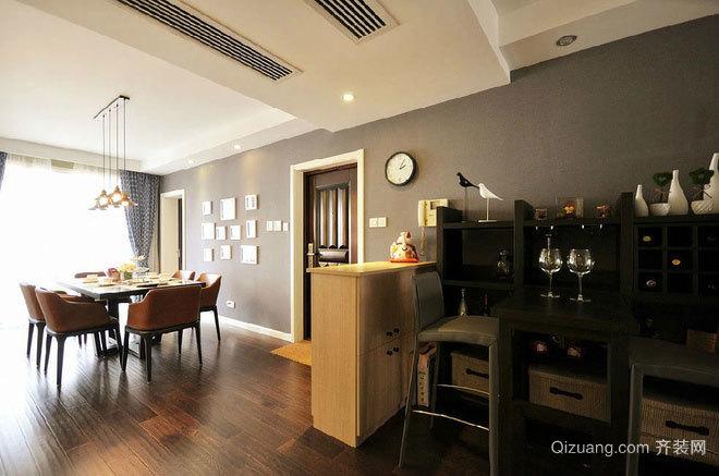 140平米空间小资又实用的混搭风格平房房屋装修效果图