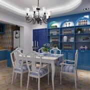 地中海风格简约餐厅装饰