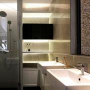 三室一厅简约风格卫生间装饰