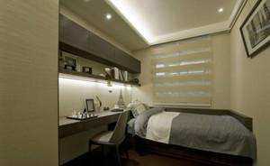 睡觉睡的踏实的宜家小卧室装修效果图