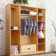 现代简约风格原木浅色衣柜装饰